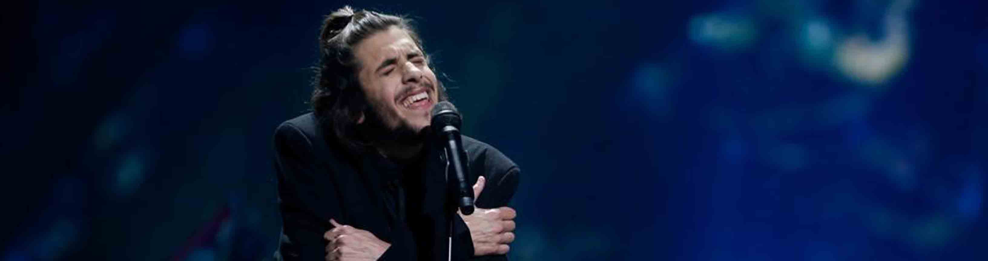 Image Salvador Sobral triumph in Europe