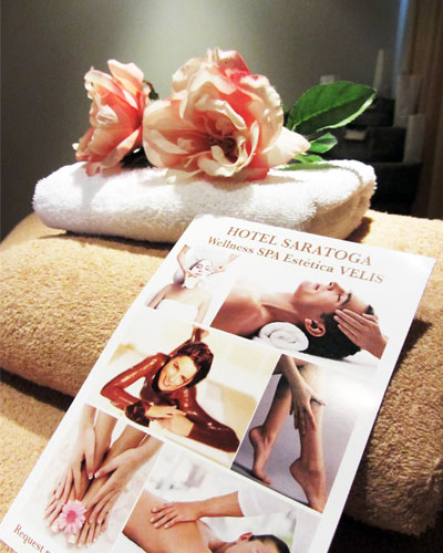 relax and well-being in the spa of the hotel saratoga in Palma de Mallorca