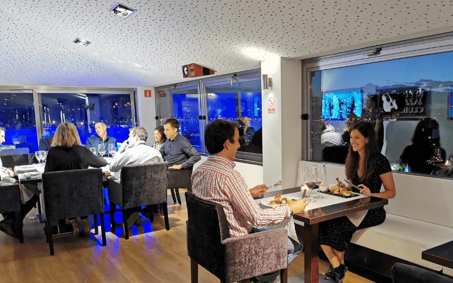 Blue Jazz Gastrobar Sky Bar Hotel Saratoga In Palma Central