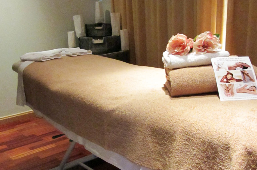 relax in the spa of the hotel saratoga in Palma de Mallorca